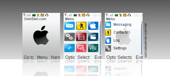 how to add contacts to iphone iphone white nokia themes s40 by abunaim on deviantart 7038