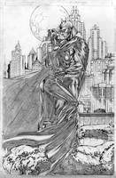 Batman and Catwoman by DiegoBernard