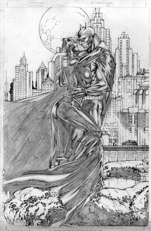 Batman and Catwoman by DiegoBernard