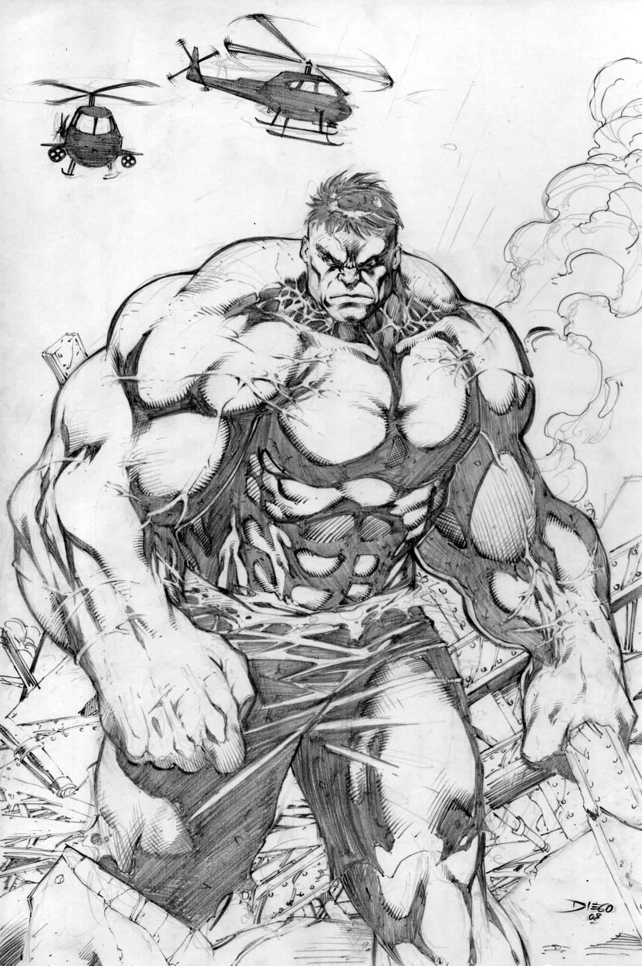 Hulk by DiegoBernard