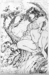 Cave Woman by DiegoBernard