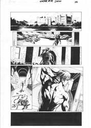 ninjak #14 page 01 inks DB b by DiegoBernard