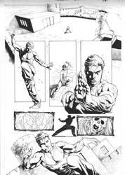 ninjak #14 page 02 inks DB b by DiegoBernard