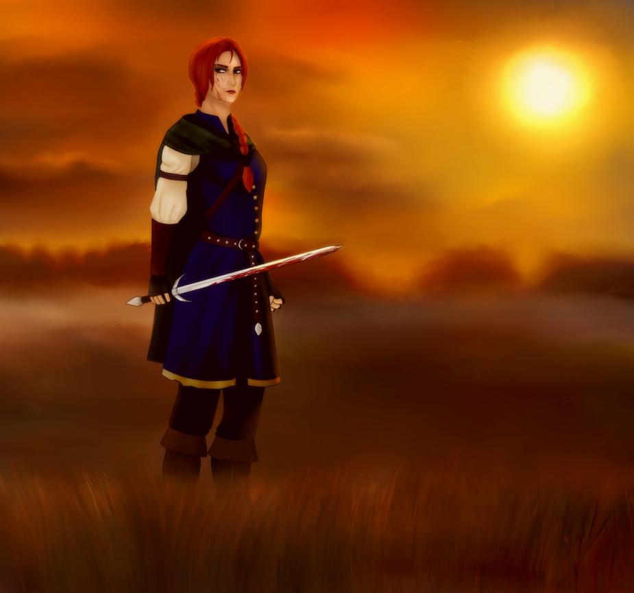 Warrior Women by theLordStarscream
