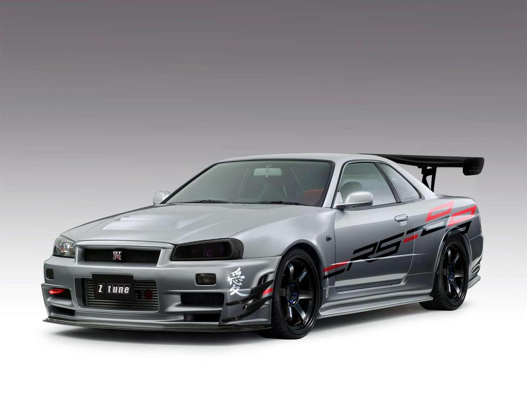Nismo-Nissan Skyline R34 GTR Z Tune Race Style by harinhassan on DeviantArt