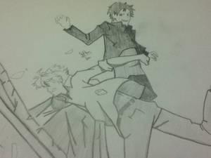 Izaya and Shizou