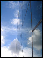 The clouds and the glass by cranial-bore