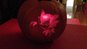 2018 Halloween Jack-O-Lantern (0ther Side)