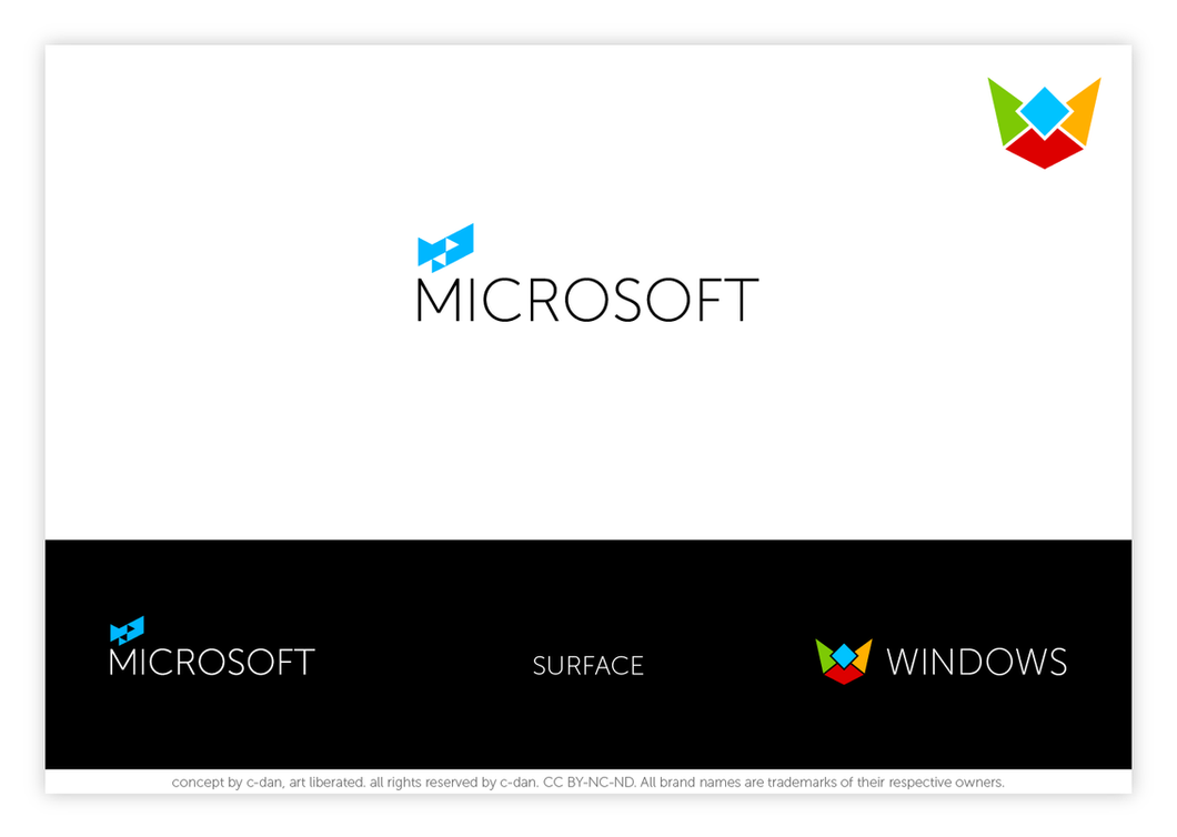 Microsoft Windows new logo concept by cdan007