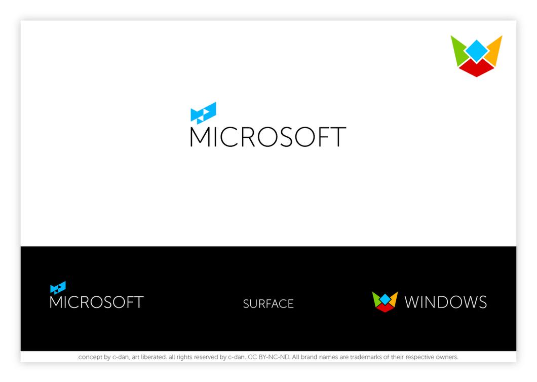 Microsoft Windows new logo concept by cdan007