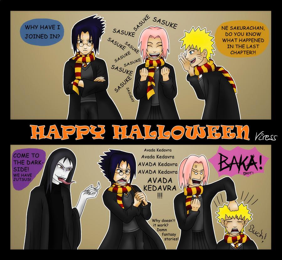 Naruto Halloween Happy Halloween Naruto Special