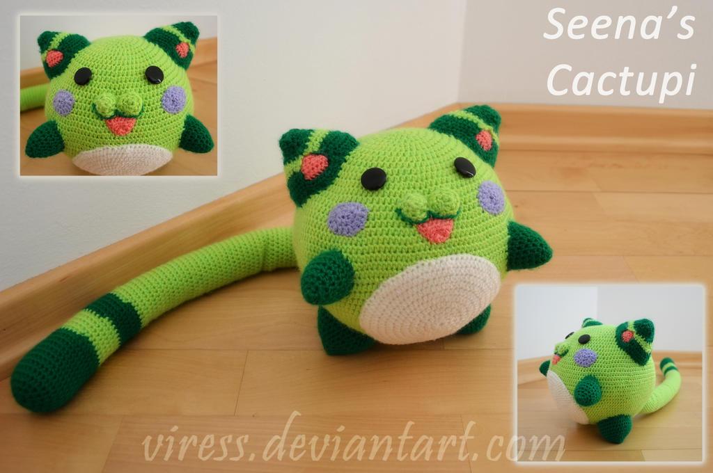 Amigurumi Forum Net : Seena's cactupi amigurumi by viress on deviantart