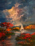 Sailing The Autumn Light
