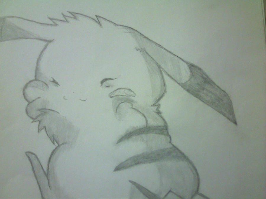 Pikachuuu o u o by Hana-Miketsukami