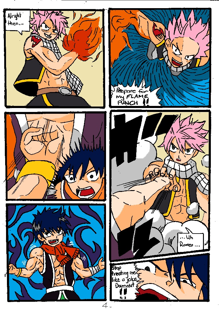 Double Test Subject NATSU VS. ROMEO Pg.4 by Somdude424