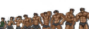 MUSCLE GROWTH SEQUENCE BUNDLE by Somdude424