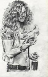 Robert Plant by Panzarina