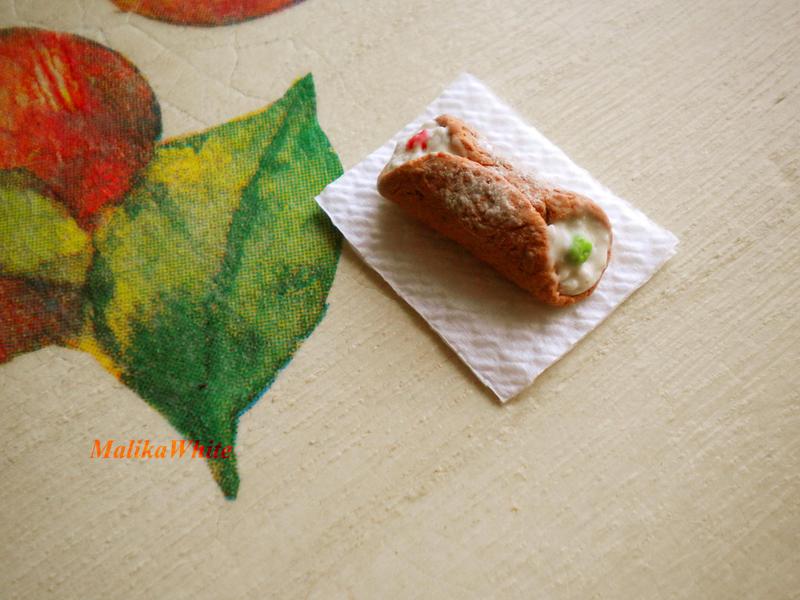 Cannolo siciliano by MalikaWhite