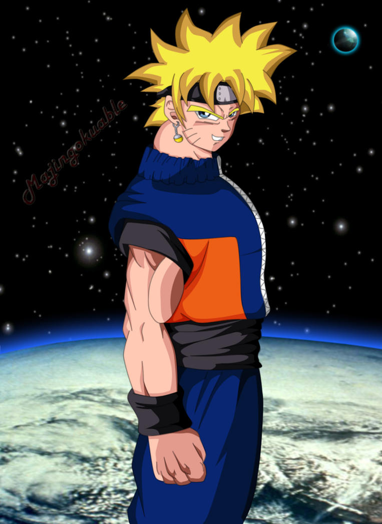 goku and naruto fusion v1 by majingokuable