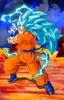 Majin Goku SSGSS3 by Majingokuable