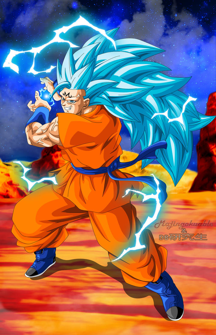 Majin Goku SSGSS3 by Majingokuable on DeviantArt