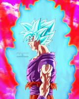 Goku SSGSS Kaioken by Majingokuable