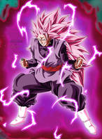 Goku Black SSJ Rose 3 by Majingokuable