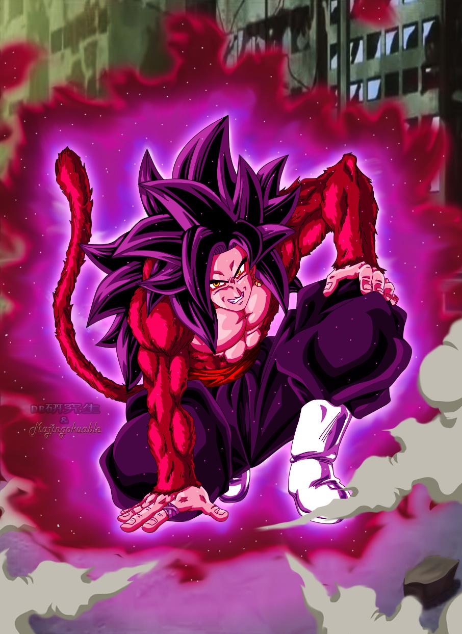 Goku Black SSJ4 by Majingokuable on DeviantArt