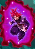 Goku Black SSJG by Majingokuable