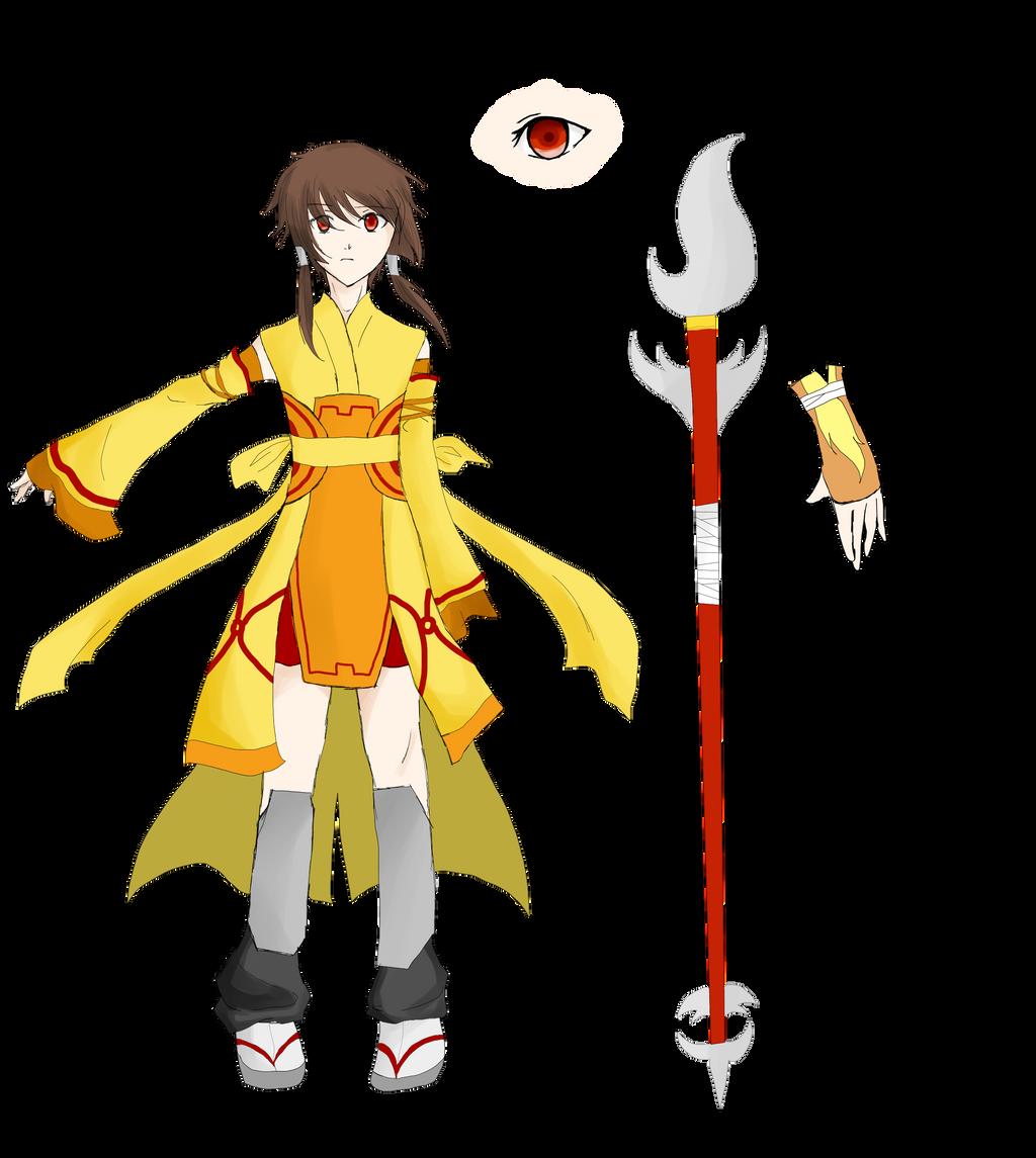 Character Design Oc : Oc character design by aka densufreak on deviantart