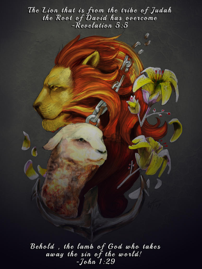 Lion of Judah - Lamb of GOD by Sora108