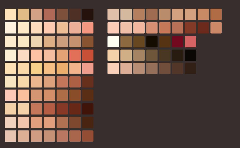 Skin Palette  by bykeyva