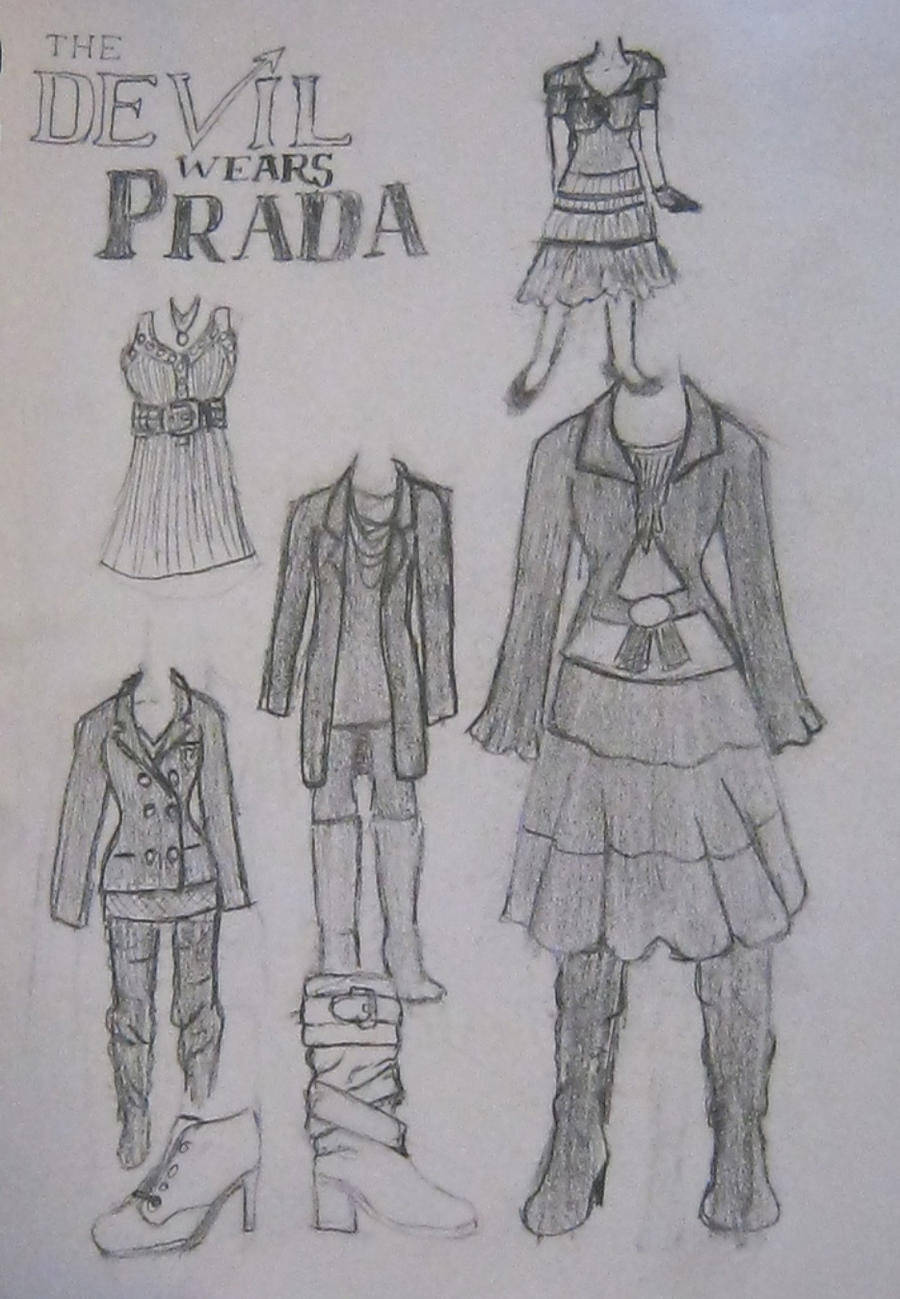 The Devil Wears Prada Outfits By X 5 4 5 2 On Deviantart
