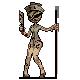 Silent Hill Nurse Sprite by X-5-4-5-2