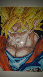 Portrait Of a Hero - Goku