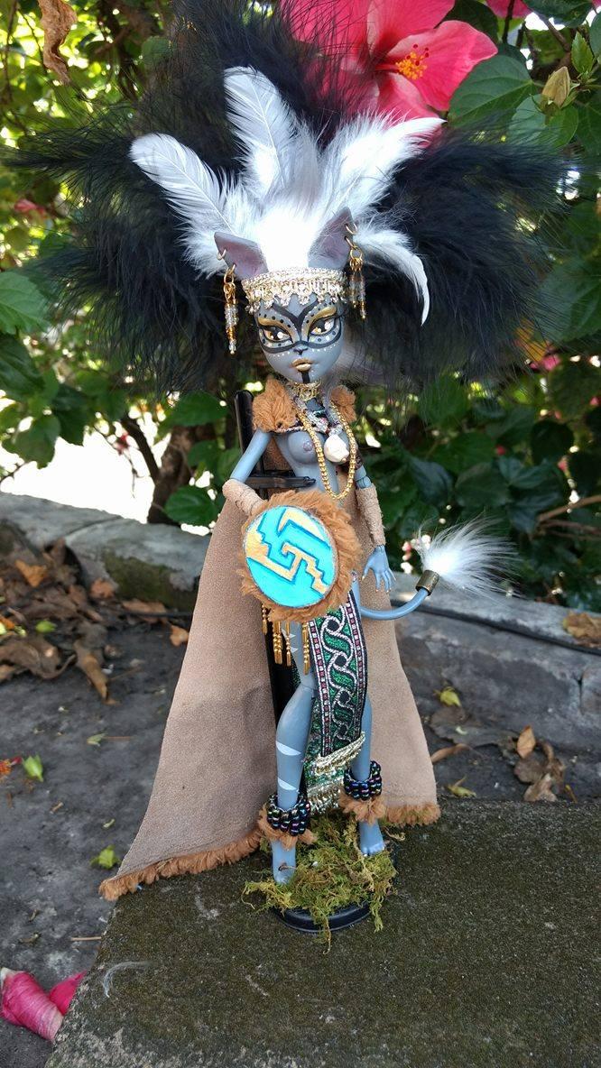 Xoloitzcuintle warrior by Legadema