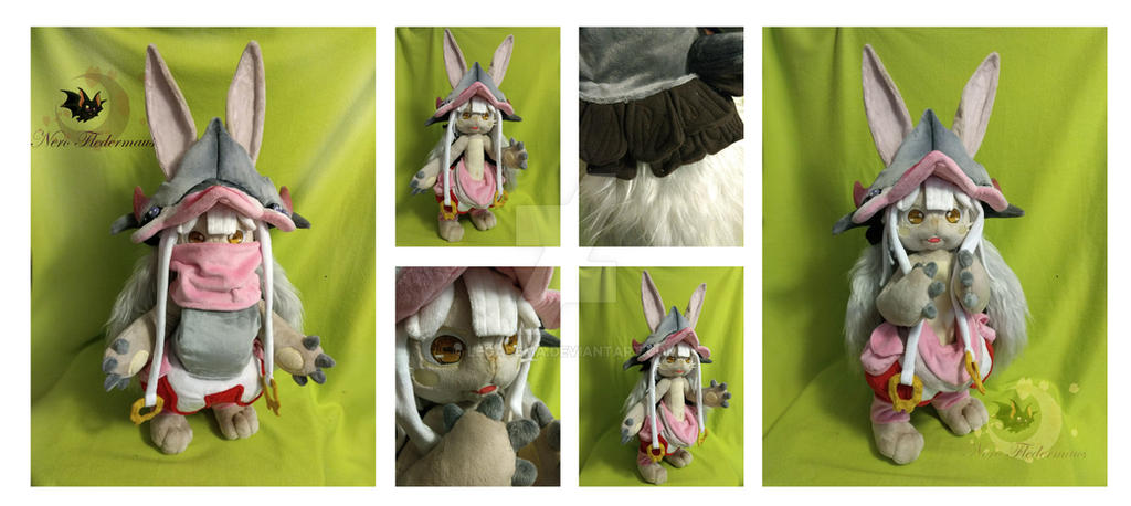 Nanachi Custom plushie by Legadema