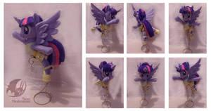 Custom plushie Twiligth Sparkle tutu by Legadema