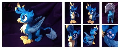 Custom plush Gallus