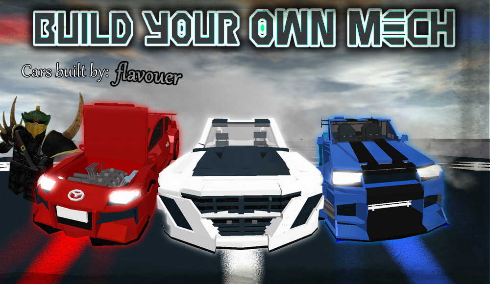 Roblox Build Your Own Mech How To Make A Car