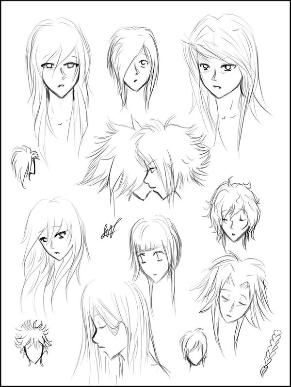 Manga hairstyles sheet 1 by misspinks on deviantart manga hairstyles sheet 1 by misspinks urmus Choice Image