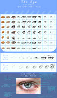 Eye tutorial: the almond