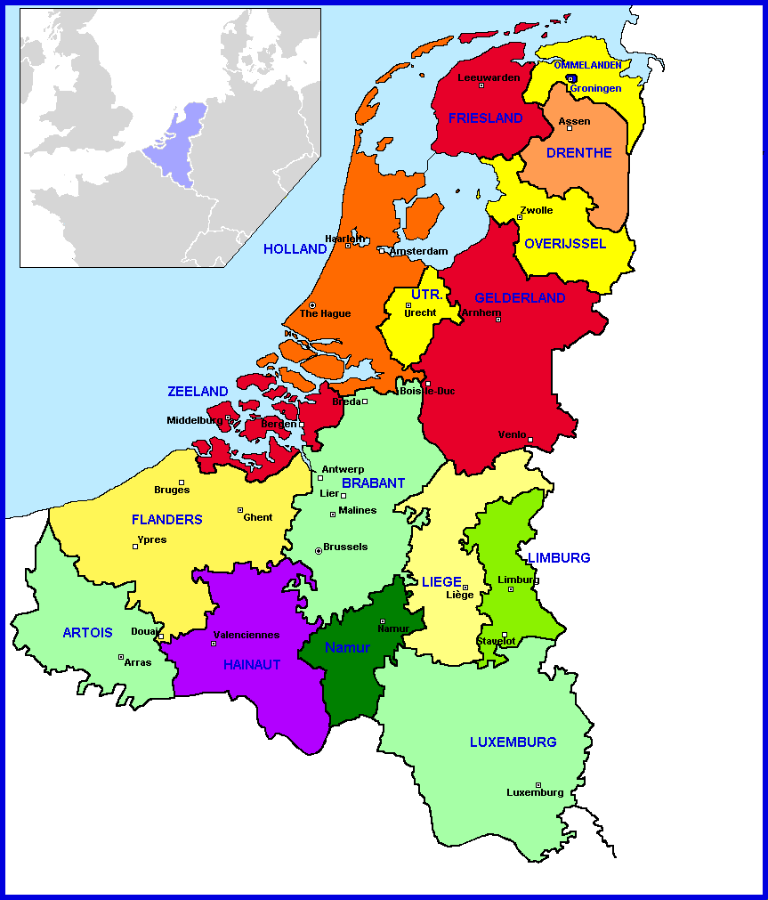 Opinions on Provinces of the Netherlands