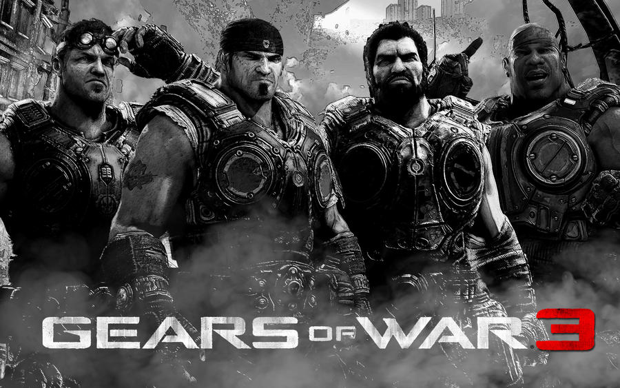 Gears Of War 3 Wallpapers: Gears Of War 3 Wallpaper By Welterz On DeviantArt
