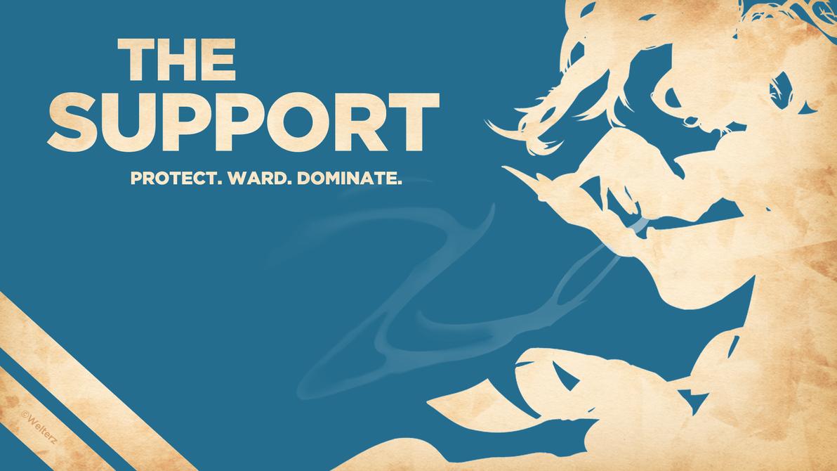 Support - Sona Wallpaper by Welterz on DeviantArt