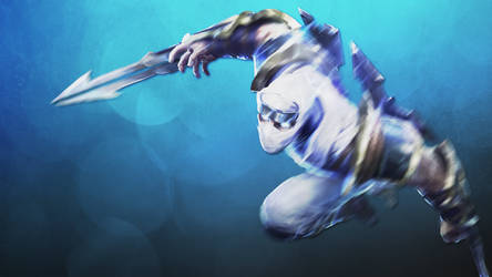 Shockblade Zed Wallpaper