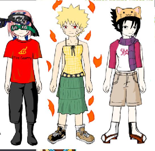 Naruto Dress Up 1 XD By ItachiIsUchiha On DeviantArt