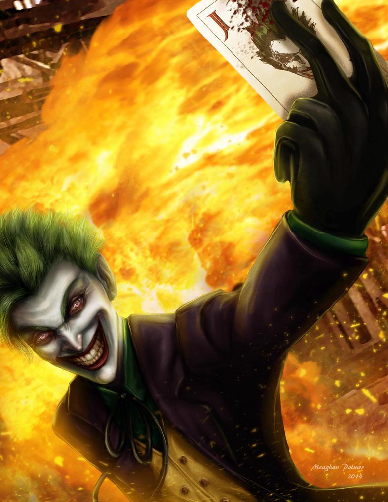 Joker by mhpalmer