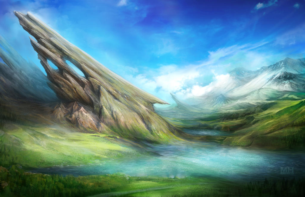 Landscape 1 by mhpalmer