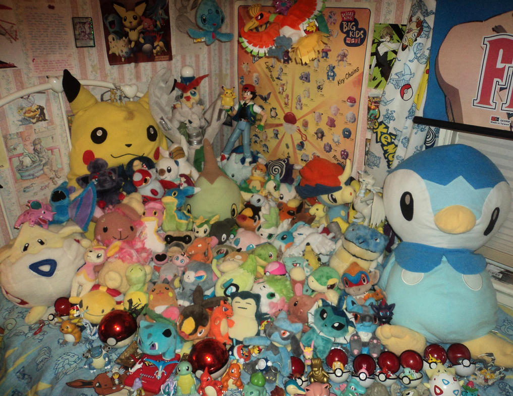 Pokemon Plush Collection by Spufflez